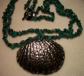 Malachite and the Seashell Necklace