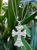 *Sparkling Cross Necklace