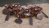 *Copper All Day Charm Cuff