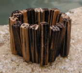 Petrified Matchstick Ring