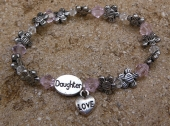 *Little Love Baby Daughter Bracelet
