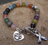 Paws for a Cause Gemstone Bracelet