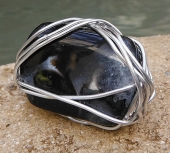 *Crystalloid Agate Ring