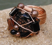 Copper Genius Ring