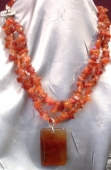 Carnelite Sunset Necklace