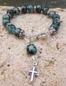 *Jaded Beauty Bracelet