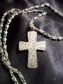 *Simple Cross Neckgear