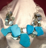 Turquoise Dual Necklace